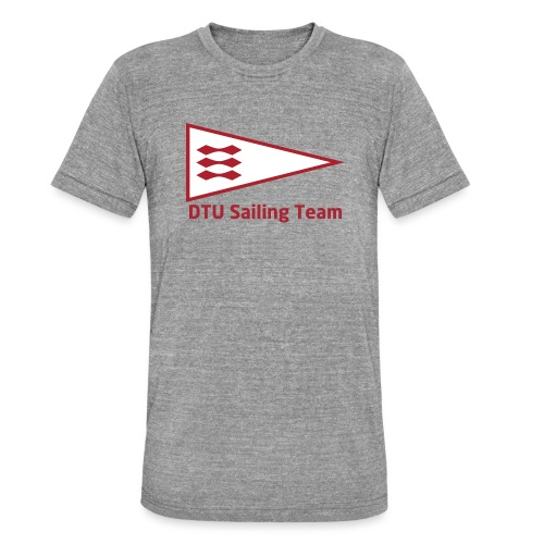 DTU Sailing Team Official Workout Weare - Unisex Tri-Blend T-Shirt by Bella & Canvas