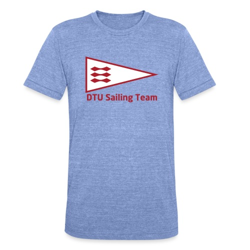 DTU Sailing Team Official Workout Weare - Unisex Tri-Blend T-Shirt by Bella & Canvas