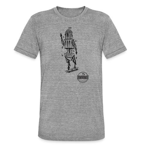 ZWOLLE 038 rattatattoo zwolle perperbus - Unisex tri-blend T-shirt van Bella + Canvas