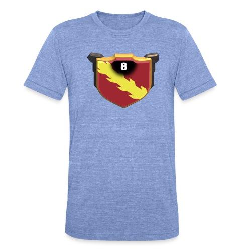 ESCUDO-01 - Camiseta Tri-Blend unisex de Bella + Canvas
