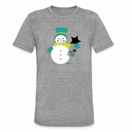Snowtime-Green - Unisex Tri-Blend T-Shirt von Bella + Canvas