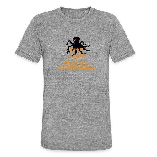 Keep Calm Kondogbia - T-shirt chiné Bella + Canvas Unisexe