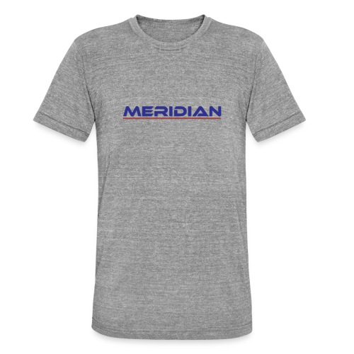 Meridian - Maglietta unisex tri-blend di Bella + Canvas
