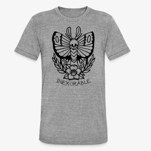 Traditional Tattoo Moth - Unisex Tri-Blend T-Shirt by Bella & Canvas