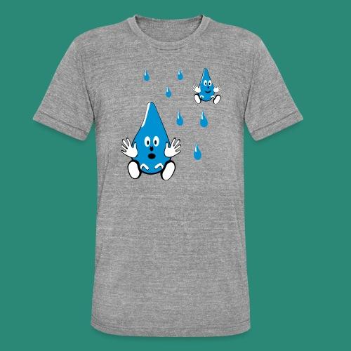 Tropfen - Unisex Tri-Blend T-Shirt von Bella + Canvas