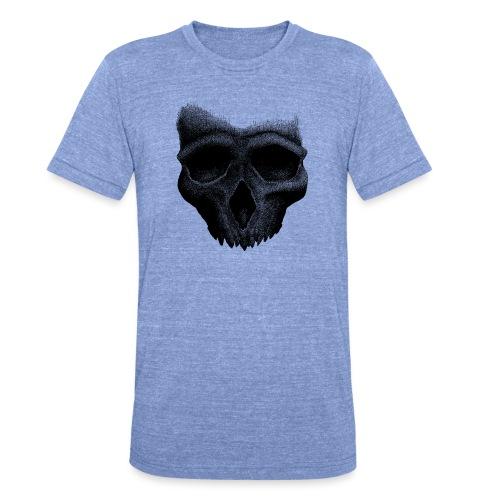 Simple Skull - T-shirt chiné Bella + Canvas Unisexe