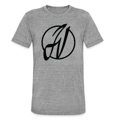 JV Guitars - logo noir - T-shirt chiné Bella + Canvas Unisexe
