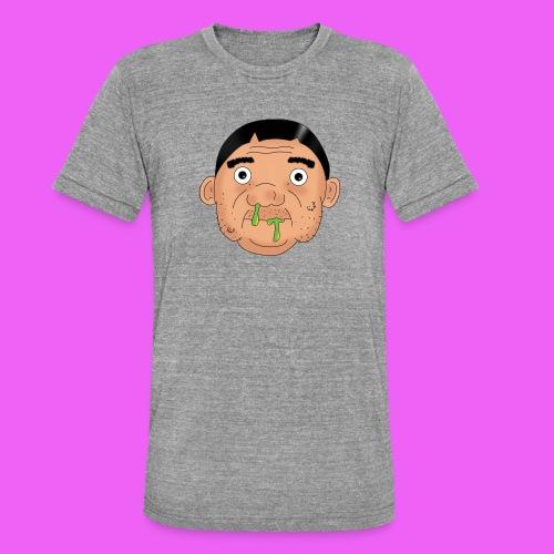Fat boy - Camiseta Tri-Blend unisex de Bella + Canvas