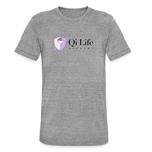 Qi Life Academy Promo Gear - Unisex Tri-Blend T-Shirt by Bella & Canvas