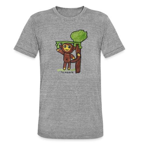 monkeywhite - Unisex Tri-Blend T-Shirt by Bella & Canvas