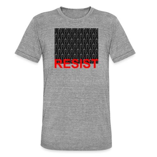Resist 21.1 - Unisex Tri-Blend T-Shirt von Bella + Canvas