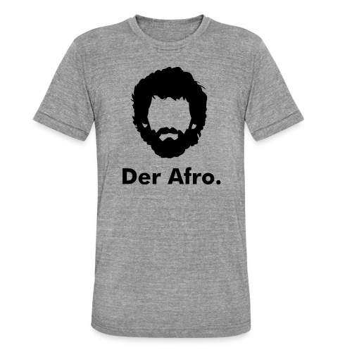 Der Afro - Unisex Tri-Blend T-Shirt by Bella & Canvas