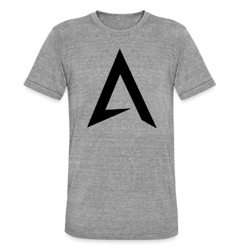 alpharock A logo - Unisex Tri-Blend T-Shirt by Bella & Canvas