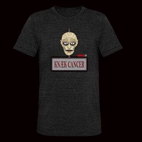 Knæk Cancer Kollektion ! - Unisex tri-blend T-shirt fra Bella + Canvas