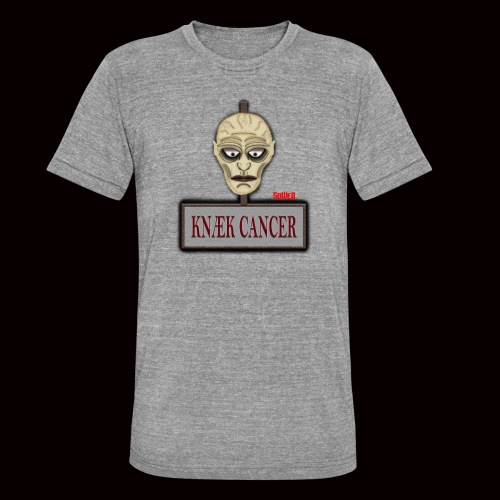 Knæk Cancer Kollektion ! - Unisex tri-blend T-shirt fra Bella + Canvas