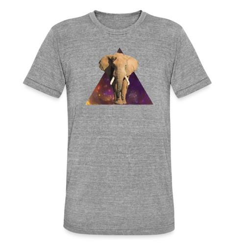 Elephant - Maglietta unisex tri-blend di Bella + Canvas