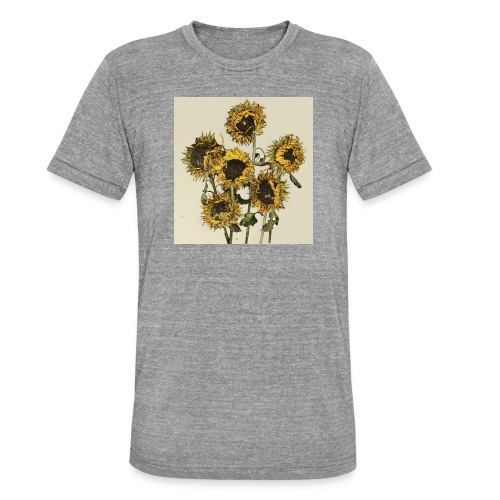 Sunflowers - Unisex Tri-Blend T-Shirt by Bella & Canvas
