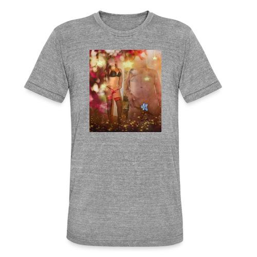 herbst Sinfonie - Unisex Tri-Blend T-Shirt von Bella + Canvas