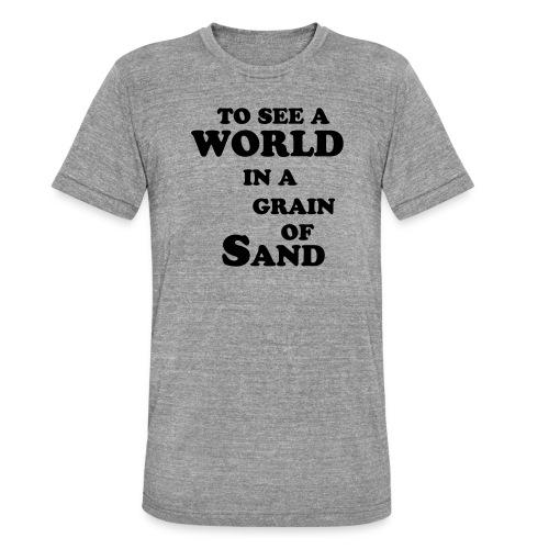 grainofsand - Unisex tri-blend T-shirt van Bella + Canvas
