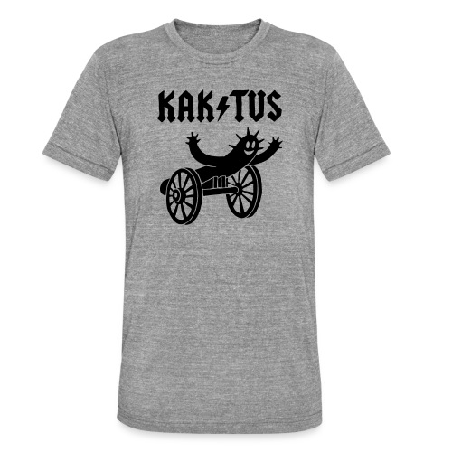 Kaktus Rock - Unisex Tri-Blend T-Shirt von Bella + Canvas