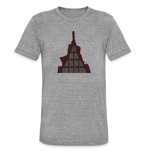 Vraiment, tablette de chocolat ! - T-shirt chiné Bella + Canvas Unisexe