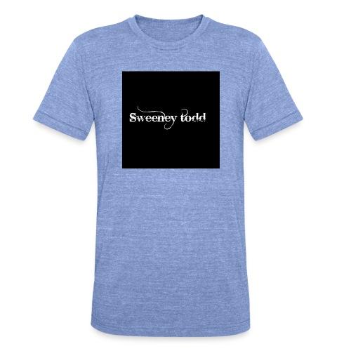 Sweney todd - Unisex tri-blend T-shirt fra Bella + Canvas