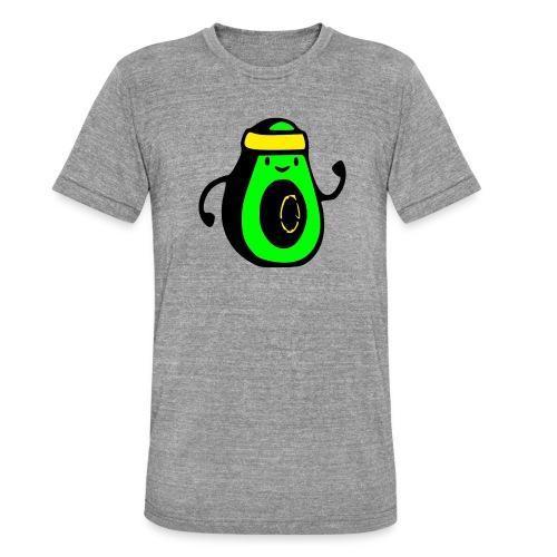 aguacate ninja - Camiseta Tri-Blend unisex de Bella + Canvas