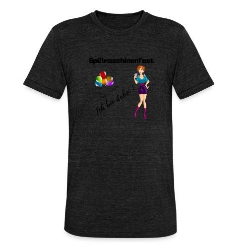 Spülmaschinenfest - Unisex Tri-Blend T-Shirt von Bella + Canvas