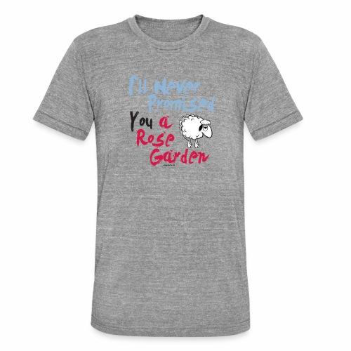 Hauskat Lammas paidat, tekstiilit- lahjatuotteet - Bella + Canvasin unisex Tri-Blend t-paita.