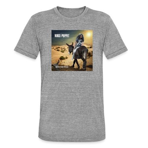 NIKKI PUPPET INTO THE WILD - Unisex Tri-Blend T-Shirt von Bella + Canvas