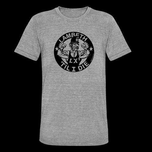 LAMBETH - BLACK - Unisex Tri-Blend T-Shirt by Bella & Canvas