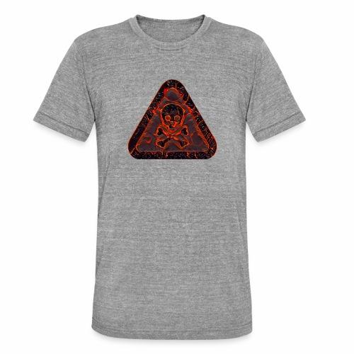 DANGER PS P 210419140046 - Camiseta Tri-Blend unisex de Bella + Canvas