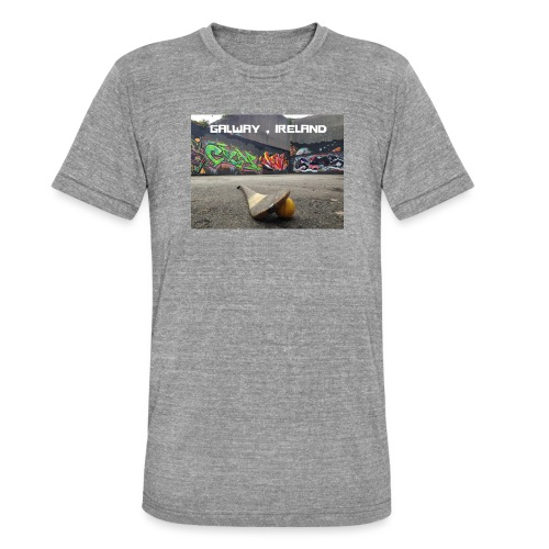 GALWAY IRELAND BARNA - Unisex Tri-Blend T-Shirt by Bella & Canvas