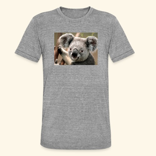 Koala - Unisex Tri-Blend T-Shirt von Bella + Canvas