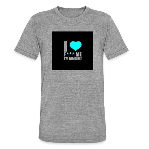 I Love FMIF Badge - T-shirt chiné Bella + Canvas Unisexe