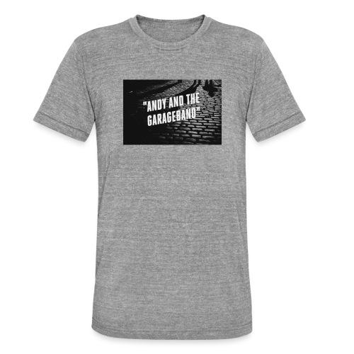 Black and White - Unisex tri-blend T-skjorte fra Bella + Canvas