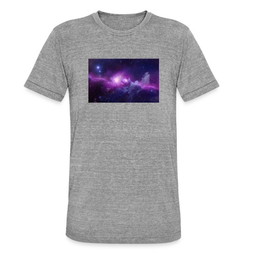 tshirt galaxy - T-shirt chiné Bella + Canvas Unisexe