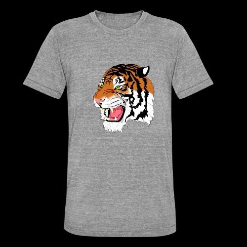 Sumatra Tiger - Unisex Tri-Blend T-Shirt von Bella + Canvas