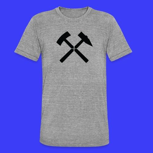 Pałki żelazne - Koszulka Bella + Canvas triblend – typu unisex