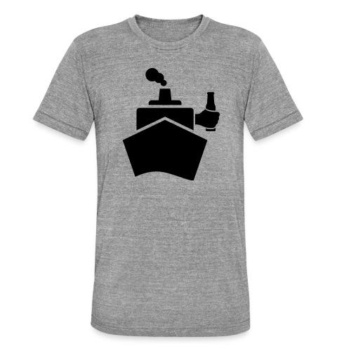 King of the boat - Unisex Tri-Blend T-Shirt von Bella + Canvas