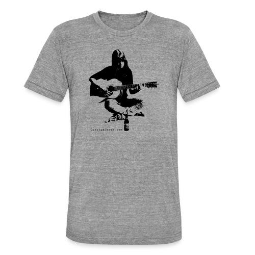 Cynthia Janes guitar BLACK - Unisex Tri-Blend T-Shirt by Bella & Canvas