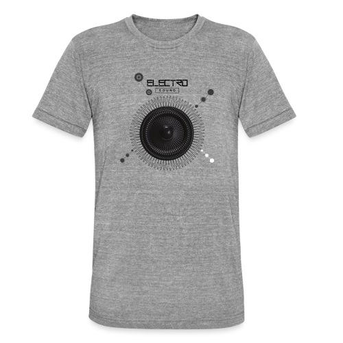 Electro Sound - Maglietta unisex tri-blend di Bella + Canvas