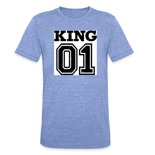 King 01 - T-shirt chiné Bella + Canvas Unisexe