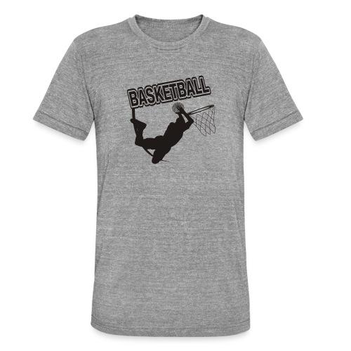Le basket ball - T-shirt chiné Bella + Canvas Unisexe