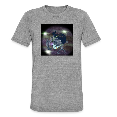 the Star Child - Unisex Tri-Blend T-Shirt by Bella & Canvas