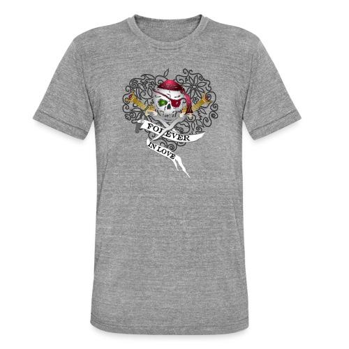 Forever in Love - Unisex Tri-Blend T-Shirt von Bella + Canvas