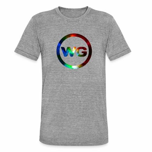 wout games - Unisex tri-blend T-shirt van Bella + Canvas