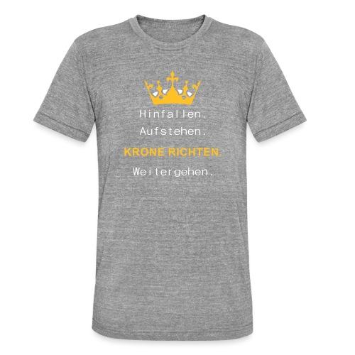 Krone Richten - Unisex Tri-Blend T-Shirt von Bella + Canvas