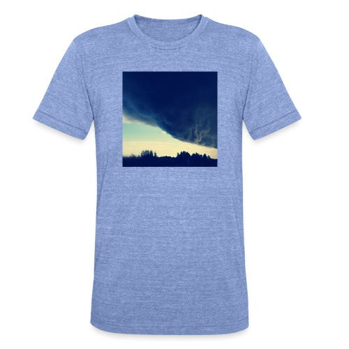 Be The Storm - Bella + Canvasin unisex Tri-Blend t-paita.