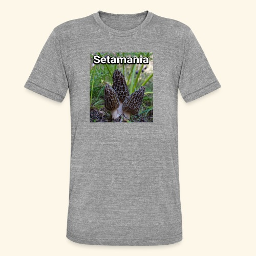 Colmenillas setamania - Camiseta Tri-Blend unisex de Bella + Canvas